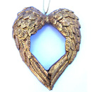 Angel Wings Ornament with True Heart