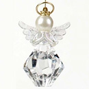You Are A Gem To Me Angel Ornament with Two Layers of Wings and Gold Halo