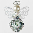 You Are A Gem To Me Angel Ornament with Four Layers of Wings and Silver Halo