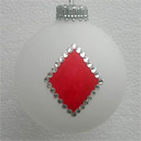 Suit of Diamonds: Poker and Bridge Playing Cards Ornament