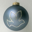 Country Blue Dove Ornament